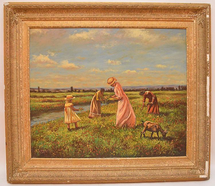 Cornelius Koppenol (DUTCH, 1865-1946) oil on panel,