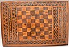 19th c. marquetry box, 6
