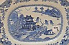 Pair 19th Century Canton Porcelain Platters each 10
