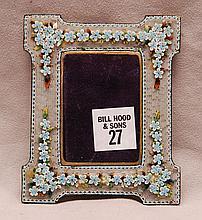 Mosaic frame, 4 1/2
