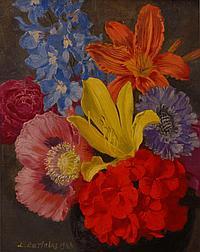Ludwig Bartning (Germany 1876 - 1956) oil on