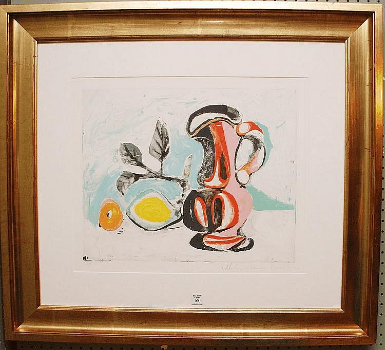 MARINA PICASSO LIMITED ED. LITHOGRAPH Pablo