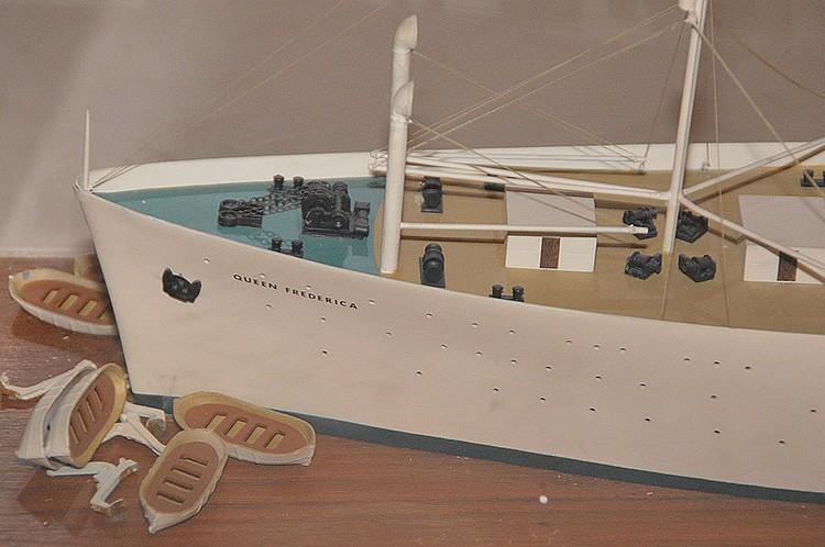 Model Ship, Queen Frederica Piraeus, 39