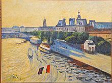 Philip Corley (America b. 1944) oil on canvas,