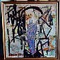 VICTOR THALL (Amer. 1902-1983) ABSTRACT OIL ON, Victor Thall, Click for value