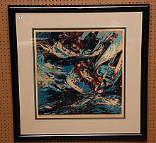 LeRoy Neiman  (American 1921 - 2012) Artist Proof Serigraph, pencil signed by artist lower right, image size 24