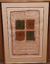 James Coignard (France 1925 - 2008) Mixed media, pencil signed and numbered, 14/75, 26