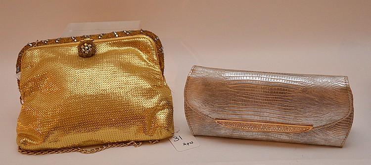 Judith Leiber Vintage Hand Bag Lth. 7 1/2