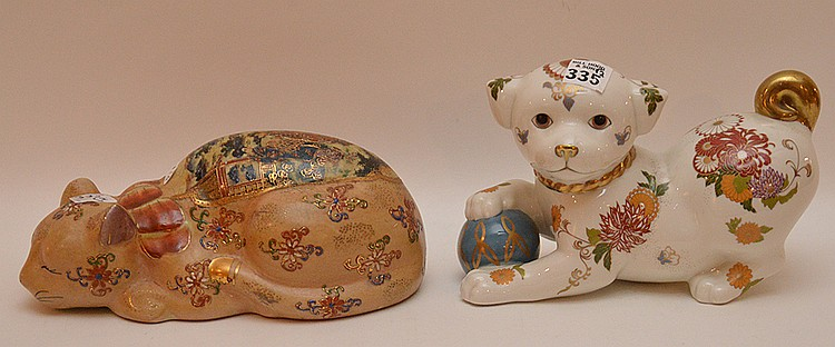 Satsuma cat and dog, 8