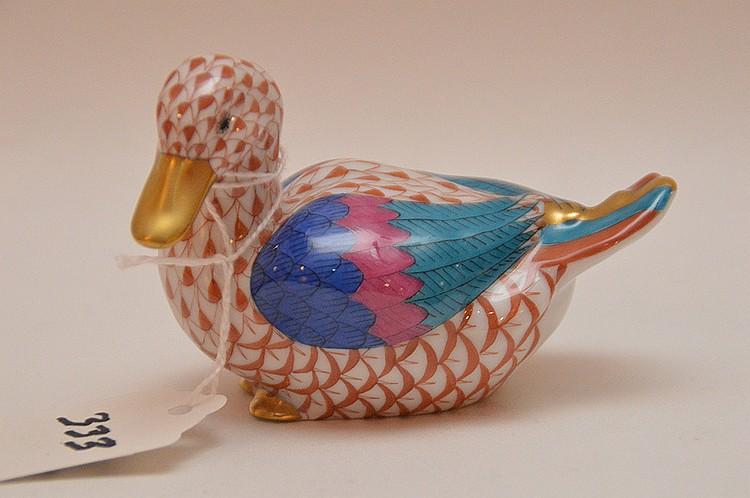 Herend duck, 2 3/4