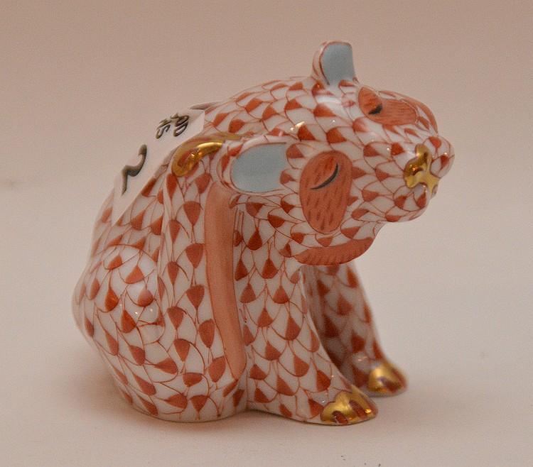 Herend Leopard cub, 2 1/2