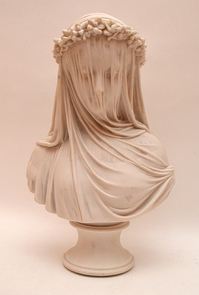Chatsworth pressed marble bust, Sculptured Arts Studio, 14