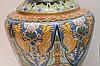 Lot 4 Cloisonné Vases.  1 Largest Ht. 15 1/2