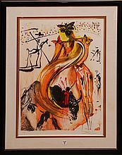 Salvador Dali Original Hand signed and Numbered