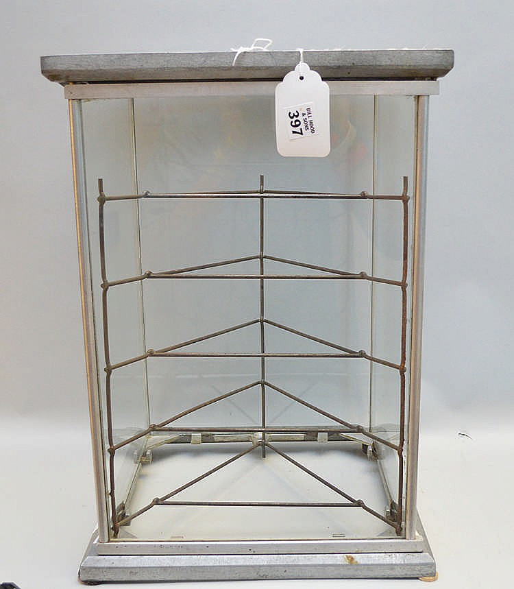 Original Country Store Table Talk Pie Display Cabinet 18