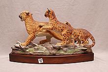 Boehm porcelain Puma, #500-2/ #50-1975, 13