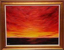 Michele Goren (American 20th Century), oil on canvas,