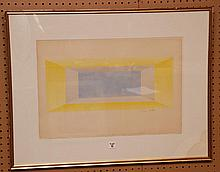 Jacques Villon  (French 1875 - 1963) Modern Lithograph, EA signed lr, 15