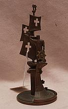 Bronze sculpture by Z. Tsereteli, replica of larger bronze at Knights of Columbus in Dundalk Maryland 6