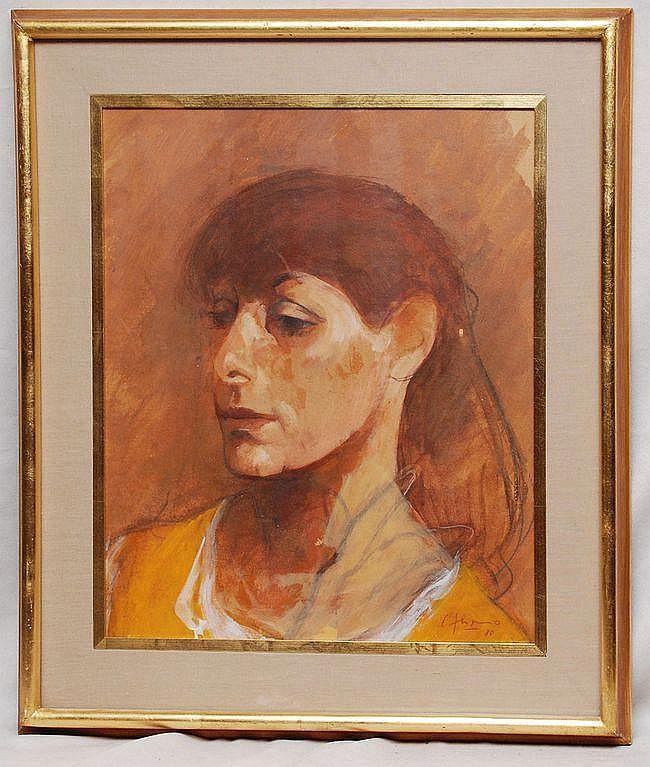Carlos Alonso (ARGENTINE, b. 1929) Acrylic,