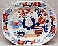 Imari well & tree platter, circa 1820's