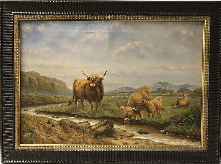 J. Macdonald 19th Century Scottish School oil on canvas, CAT