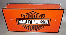 Harley Davidson lighted trade two-sided sign