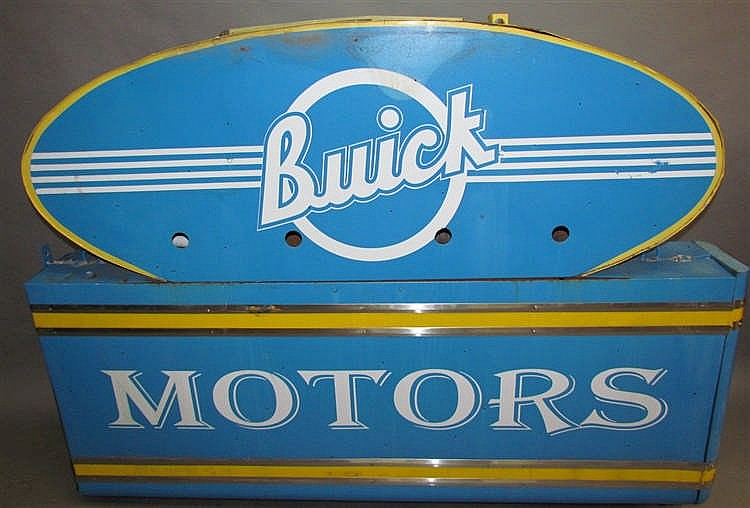 Buick Motors Trade Sign