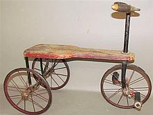 Early child's tricycle