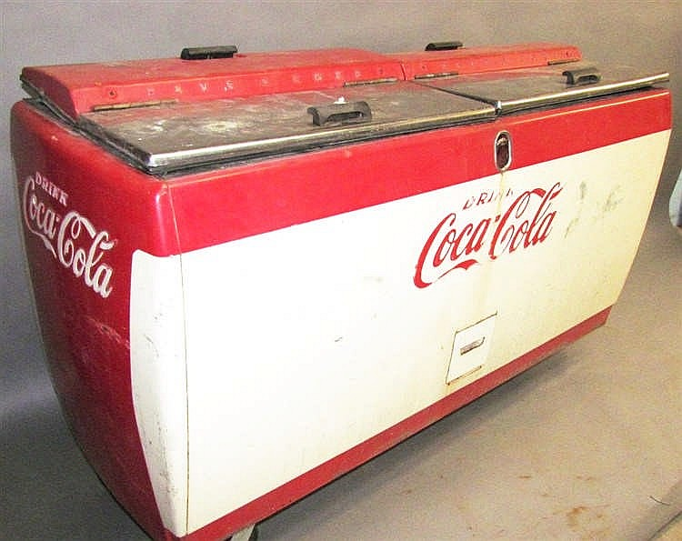 coca cola chest cooler. Black Bedroom Furniture Sets. Home Design Ideas