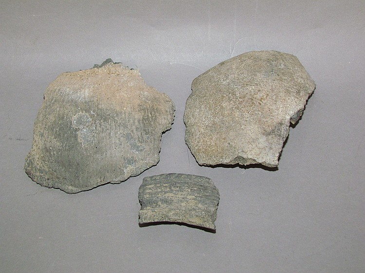 "3 piece Indian ""potsherds"""