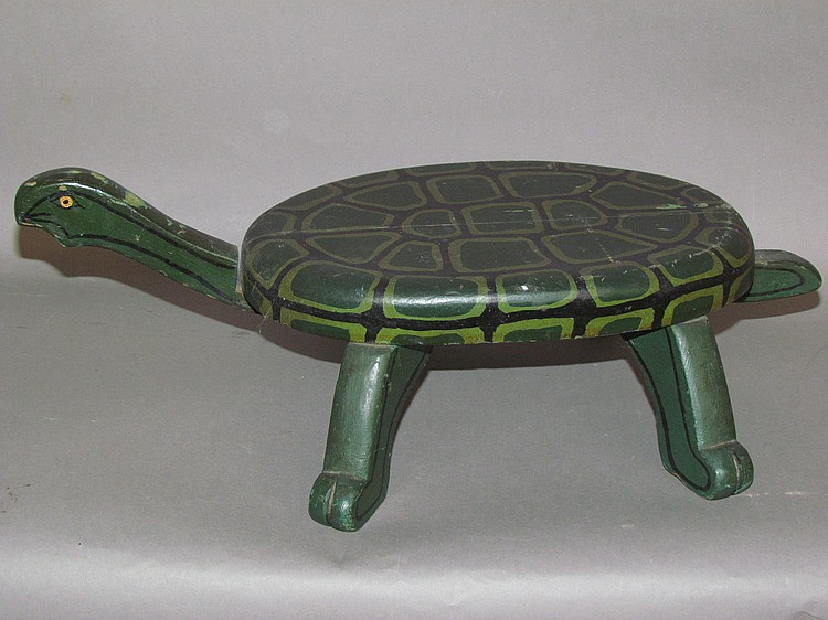 Turtle footstool