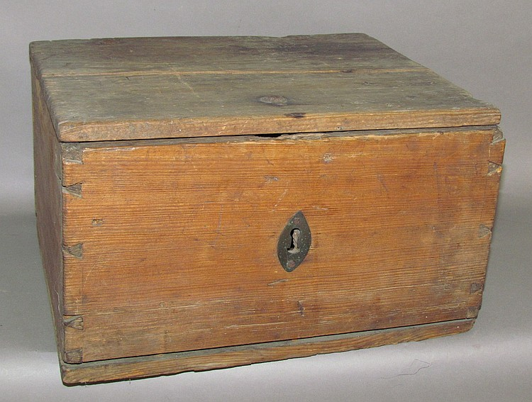 Softwood box (Bible box?)