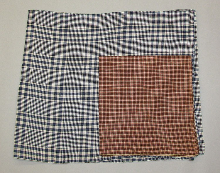 Homespun linen & man's neckerchief