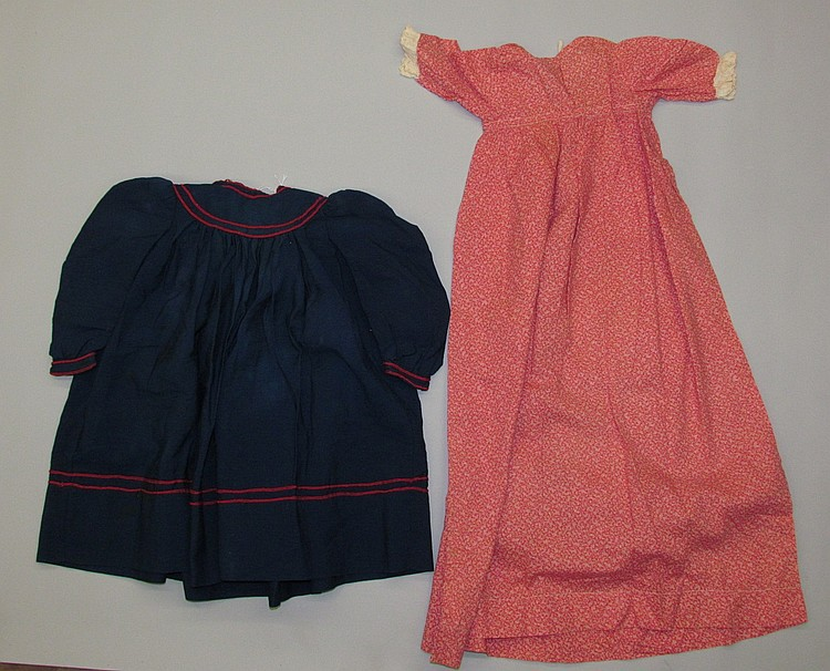 Two articles of children's clothes