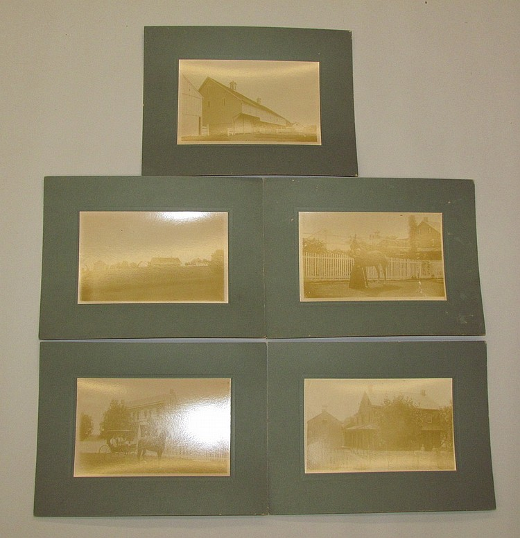 Group of 5 photos