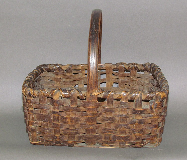 Split oak basket