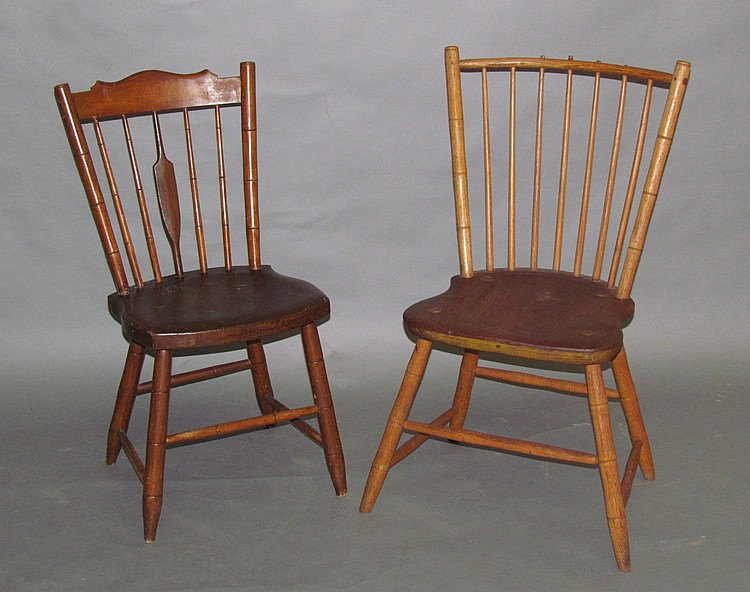 2 Windsor chairs