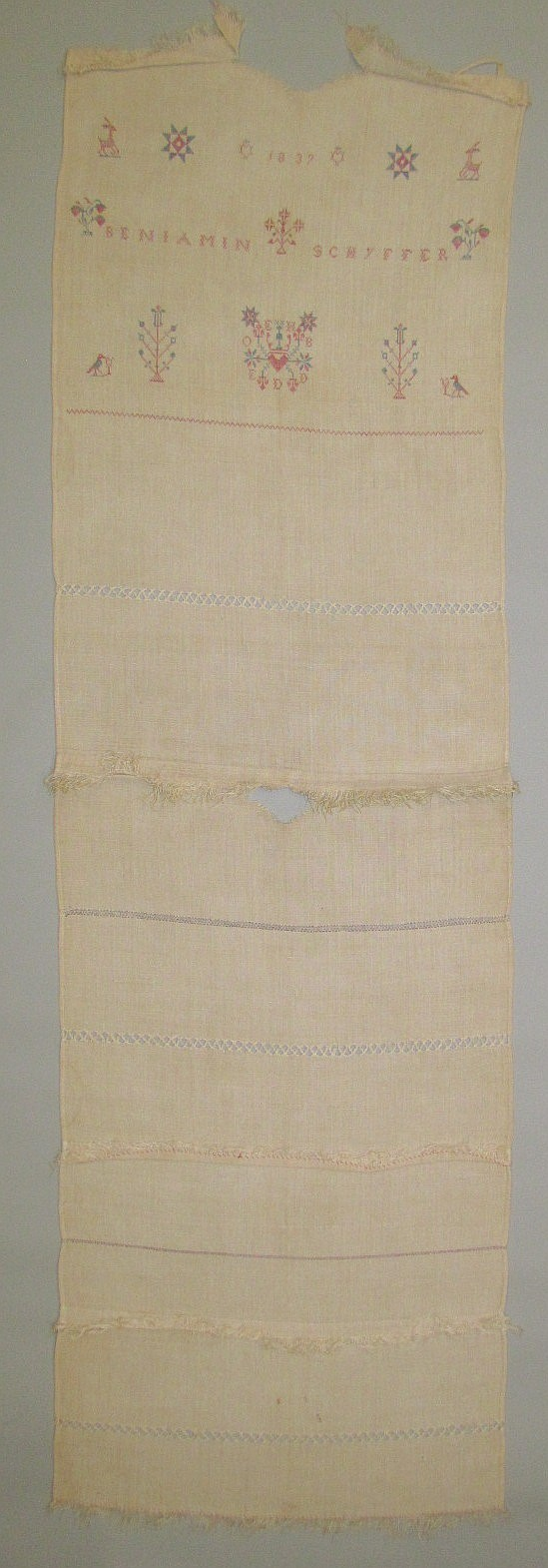 Decorated towel, Mennonite