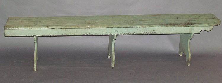 Penna. German Eckbank or corner bench