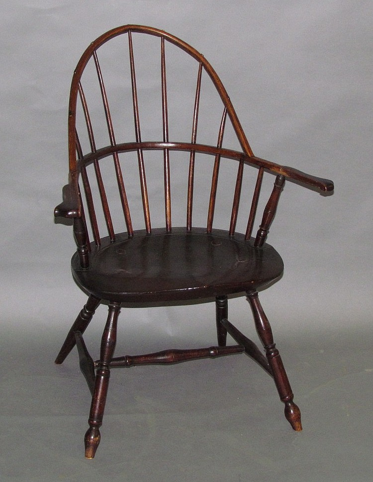 Lancaster County sack-back Windsor chair
