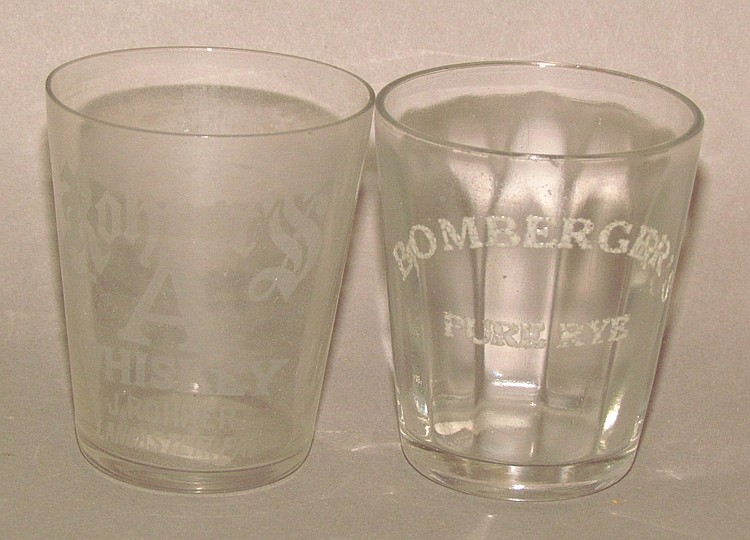 2 shot glasses