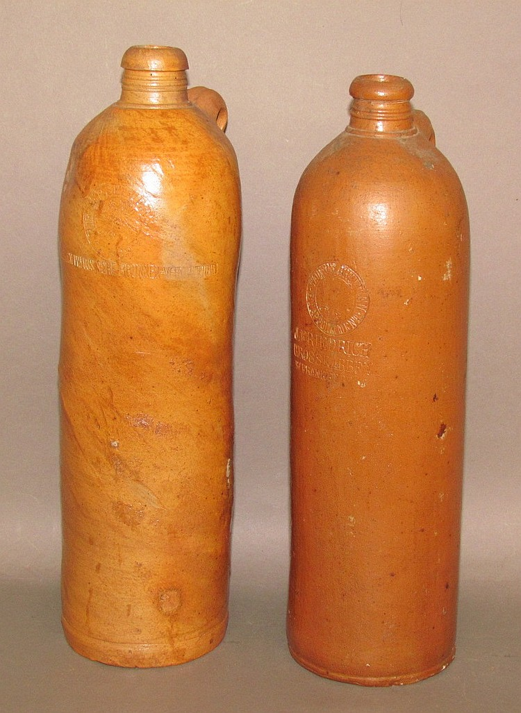 2 mineral water cure jugs