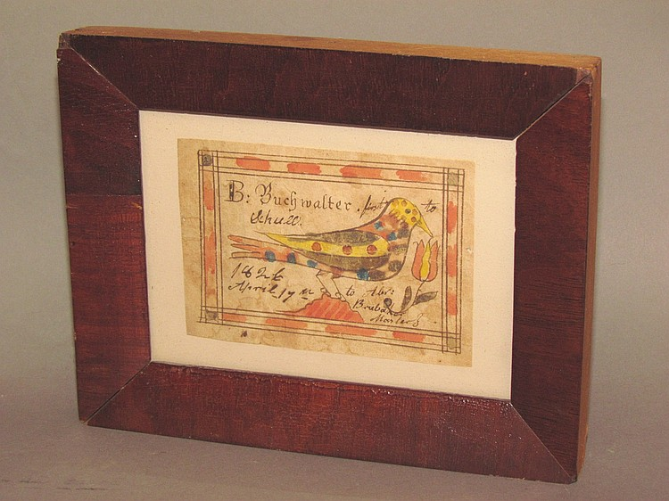 Fraktur, reward of merit