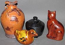 Lester Breininger & Turtle Creek redware banks