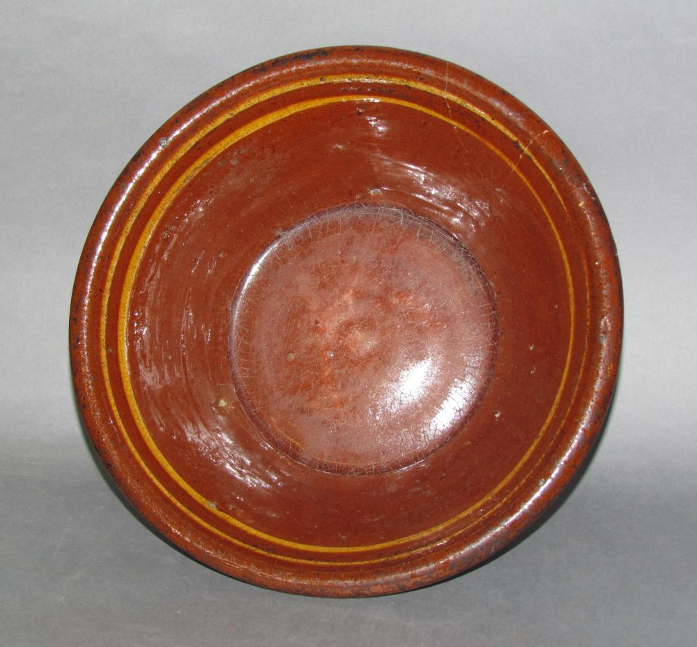 PA slipware bowl