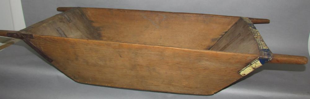 Softwood dough tray/scalding box