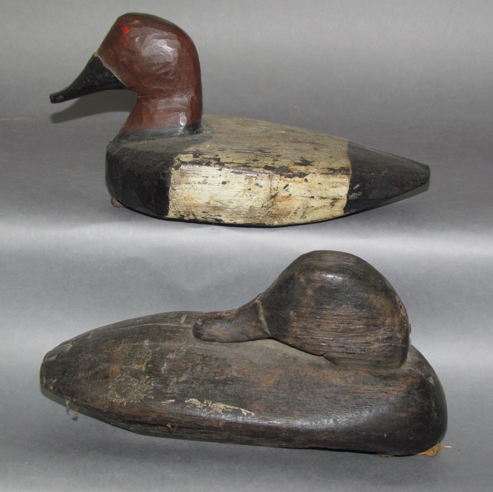 2 antique working decoys