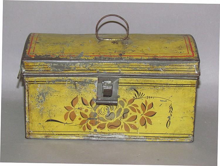 New England toleware document box