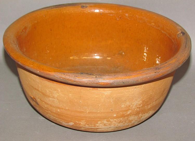 PA redware bowl